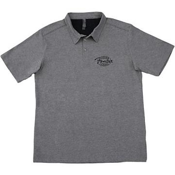 Fender Industrial Polo Small Gray