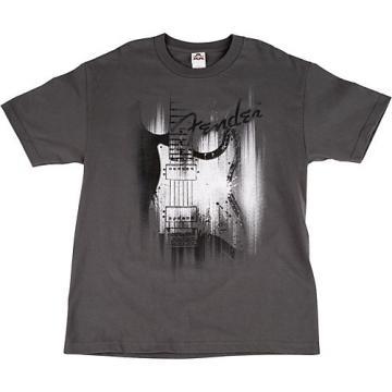 Fender Airbrushed Strat T-Shirt X Large Gray