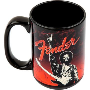 Fender Hendrix Peace Sign Mug Black