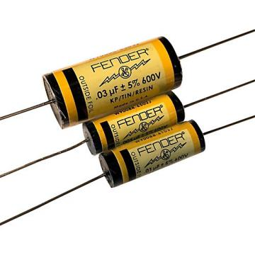 Fender Pure Vintage YELLOW Amplifier Capacitors .1 - 200V KTR