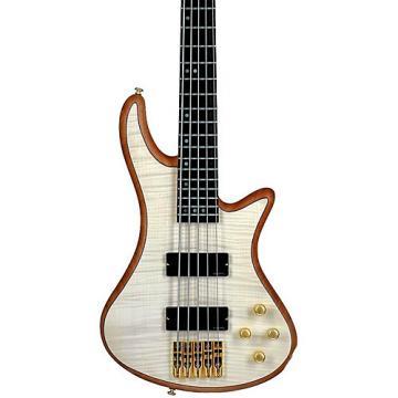 Schecter Guitar Research Stiletto Custom-5 Bass Satin Natural