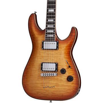 Schecter Guitar Research C-1 Custom Electric Guitar Natural Vintage Burst
