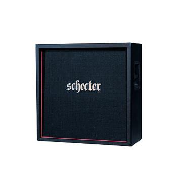 Schecter Guitar Research HR412-SUBSTE D. Charge Sub 4x12 Straight Guitar Speaker Cabinet Black