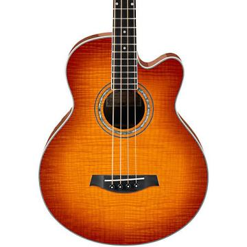 Ibanez AEB20E Acoustic-Electric Bass Guitar Gloss Vintage Violin