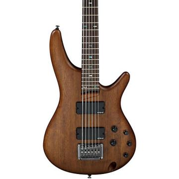 Ibanez SRC6 Crossover 6-String Electric Bass Flat Walnut