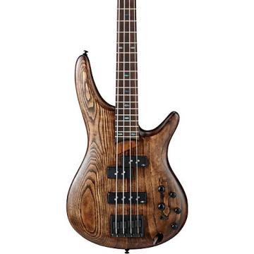 Ibanez SR650 4-String Electric Bass Guitar Antique Brown Stained
