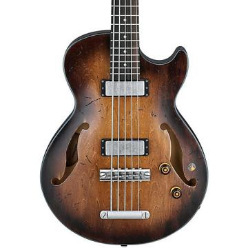 Ibanez AGB205 5 String Bass Tobacco Burst Low Gloss