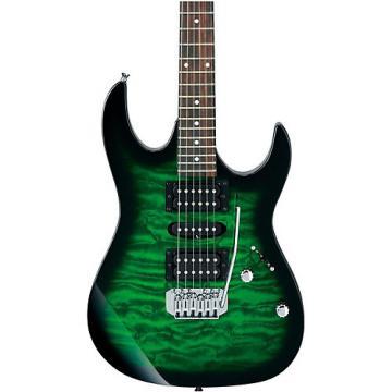 Ibanez GRX70QA GIO RX Series Electric Guitar Transparent Green Burst