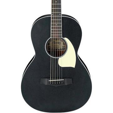 Ibanez PN14WK Mahogany Parlor Acoustic Guitar Weathered Black