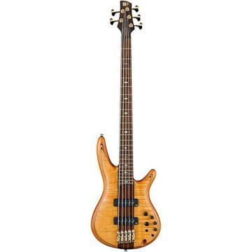 Ibanez SR1405TE 5-String Electric Bass Guitar Flat Vintage Natural