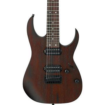 Ibanez RG Series RG7421 Fixed Bridge 7-String Electric Guitar Flat Walnut