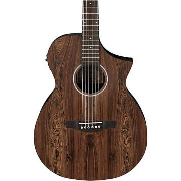 Ibanez AEWC31BC Bacote Exotic Wood Acoustic-Electric Guitar Natural