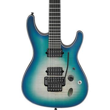 Ibanez S Iron Label SIX6DFM Electric Guitar Blue Space Burst