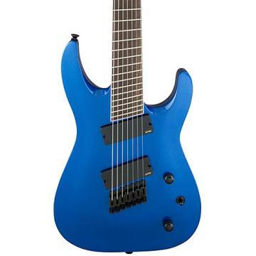 Jackson X Series Soloist SLAT7 Multi-Scale-Fret Electric Guitar Blue Metallic