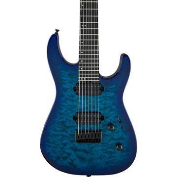 Jackson Pro Series Dinky DK7Q Hardtail Electric Guitar Chlorine Burst
