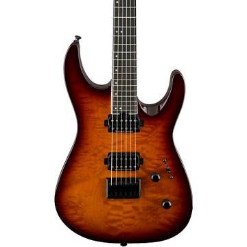 Jackson Pro Dinky DK2QHT Electric Guitar Tobacco Burst