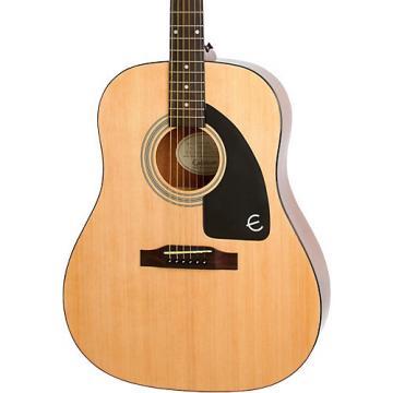 Epiphone Ltd. Ed. AJ-100 Acoustic Guitar Natural