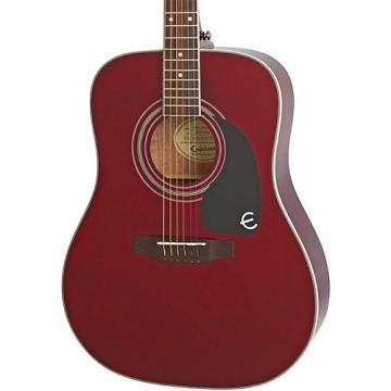 Epiphone PRO-1 PLUS Acoustic Guitar Wine Red