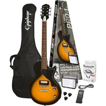 Epiphone PRO-1 guitarra Jr. Electric Guitar Pack Vintage Sunburst