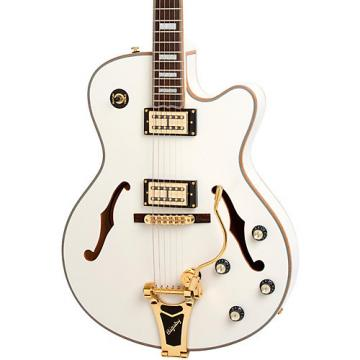 Epiphone Limited Edition Emperor Swingster Royale Electric Guitar Pearl White