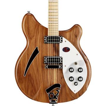 Rickenbacker 360W Hollowbody Electric Guitar Natural Walnut