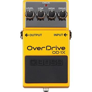 Boss OD-1X Overdrive Guitar Effects Pedal
