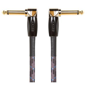 """Boss 1/4"""" Angle - Angle Instrument Cable 6 in."""