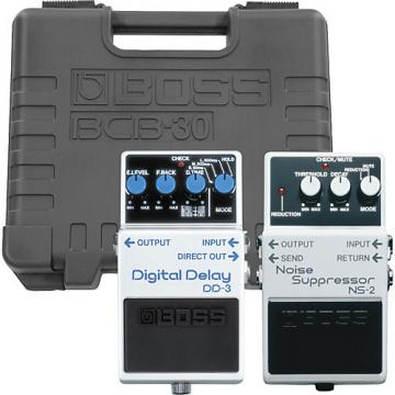 Boss NS-2/DD-3 Pedals with BCB-30 Pedal Board