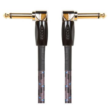 """Boss 1/4"""" Angle - Angle 6"""" Instrument Cable 6 in."""