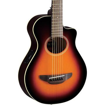 Yamaha APXT2 3/4 Thinline Acoustic-Electric Cutaway Guitar Old Violin Sunburst