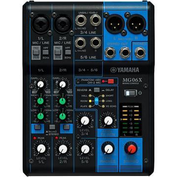 Yamaha MG06X 6-Channel Mixer