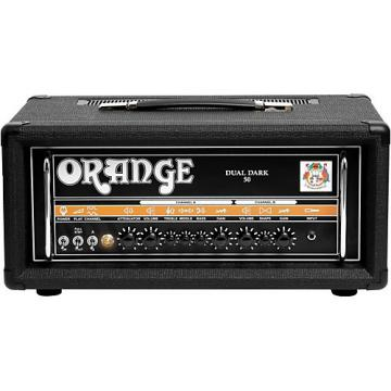 Orange Amplifiers Dual Dark 50W High-Gain Guitar Head Black