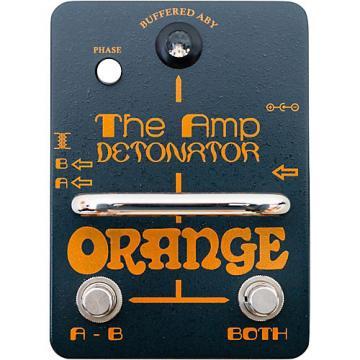 Orange Amplifiers Amp-Detonator ABY Amp Switcher Guitar Pedal