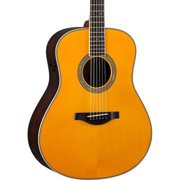 Yamaha LL-TA Transacoustic Jumbo Concert Acoustic-Electric Guitar Vintage Natural