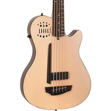 Godin A5 Ultra Natural SA 5-String Acoustic-Electric Bass Guitar Natural Rosewood Fretboard