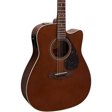 Yamaha FX370C Acoustic-Electric Guitar Dark Tinted Natural