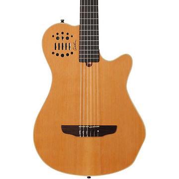 Godin Multiac Grand Concert SA Nylon String Electric Guitar High Gloss Natural
