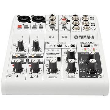 Yamaha AG06 6-Channel Mixer/USB Interface For IOS/MAC/PC