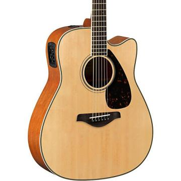Yamaha FGX820C Dreadnought Acoustic-Electric Guitar Natural