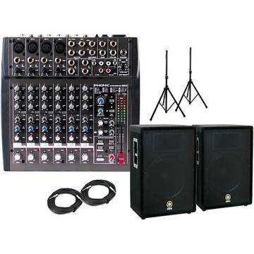 "Yamaha 15"" A15 with Phonic Powerpod 820  PA Package"