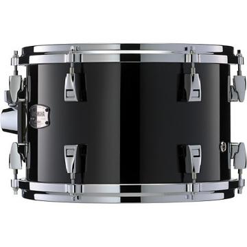"""Yamaha Absolute Hybrid Maple Hanging 10"""" x 8"""" Tom 10 x 8 in. Solid Black"""