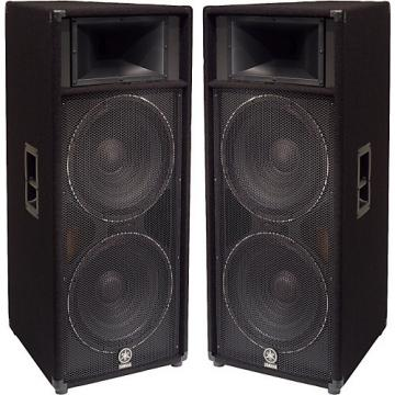 """Yamaha S215V Dual 15"""" Club Series V Speaker Pair"""
