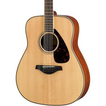 Yamaha FG820-12 Dreadnought 12-String Acoustic Guitar Natural