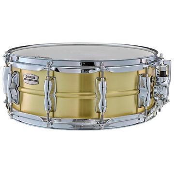 Yamaha Recording Custom Brass Snare Drum 14 x 5.5 in.
