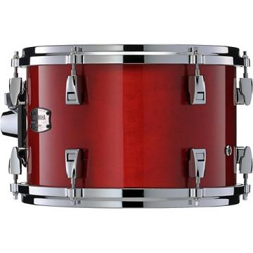 "Yamaha Absolute Hybrid Maple Hanging 12 x 8"" Tom 12 x 8 in. Red Autumn"