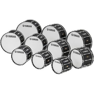 "Yamaha 14"" x 14"" 8300 Series Field-Corps Marching Bass Drum Black Forest"