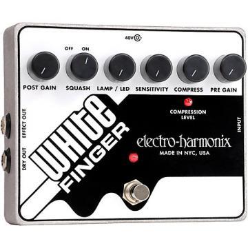 Electro-Harmonix White Finger XO Compressor Guitar Effects Pedal