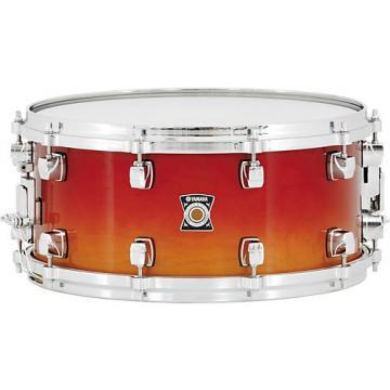 Yamaha Sensitive Series Snare Drum 14 x 6.5 Amber Sunburst