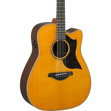 Yamaha A-Series A5R Cutaway Dreadnought Acoustic-Electric Guitar Vintage Natural