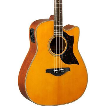 Yamaha A-Series A1M Cutaway Dreadnought Acoustic-Electric Guitar Vintage Natural